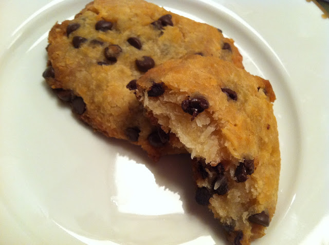 Chocolate Chip Coconut Cookies Recipe Image one