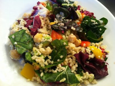Millet and Chickpea Salad Recipe
